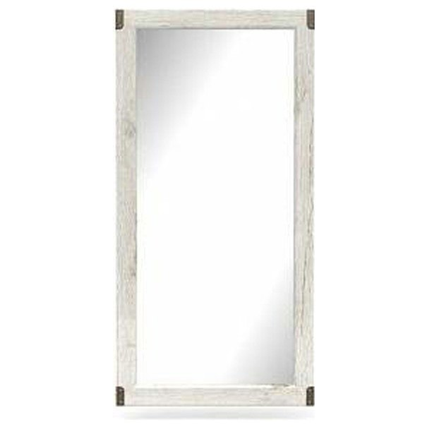 Zrcadlo INDIANA borovice bílá 1