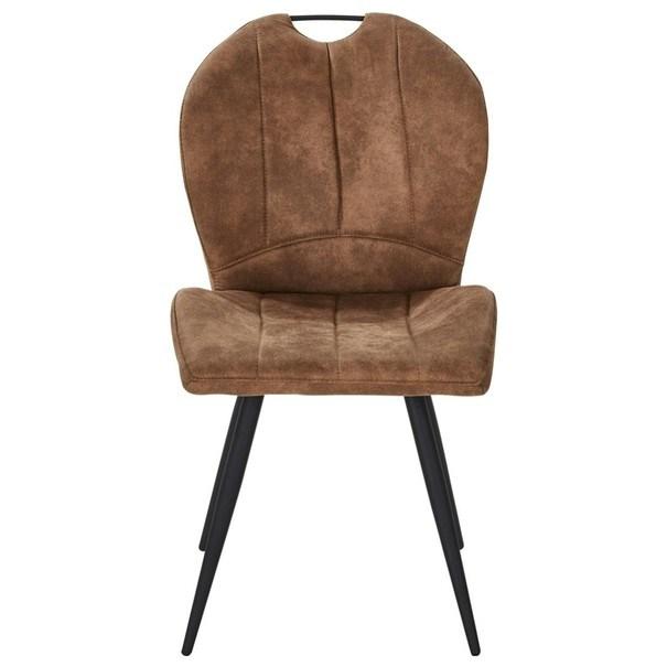 Jídelní židle INGO hnědá 2