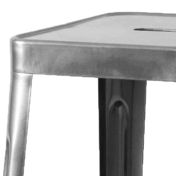 Barová stolička IRON natur/železo 3