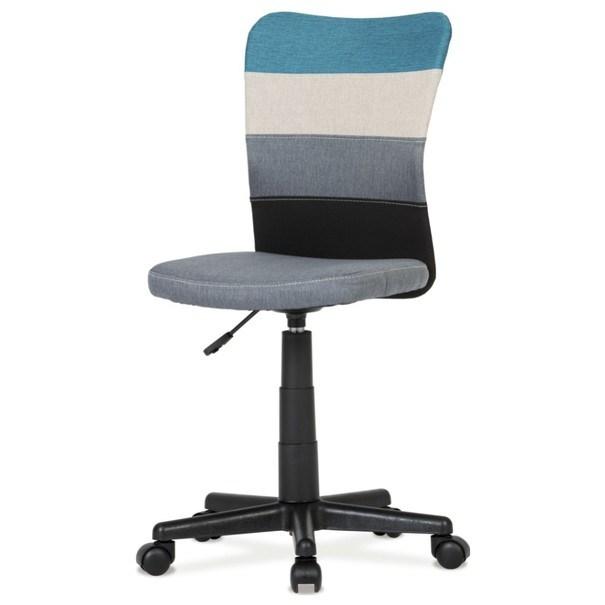 Otočná stolička IRWIN mix farieb modrá 1