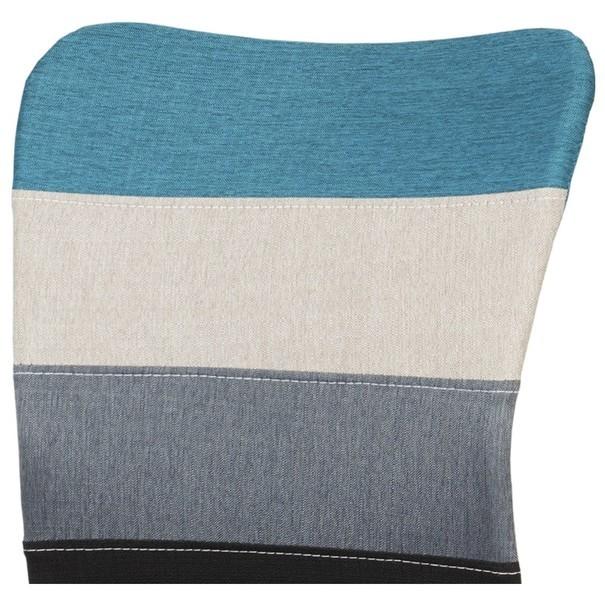 Otočná stolička IRWIN mix farieb modrá 7