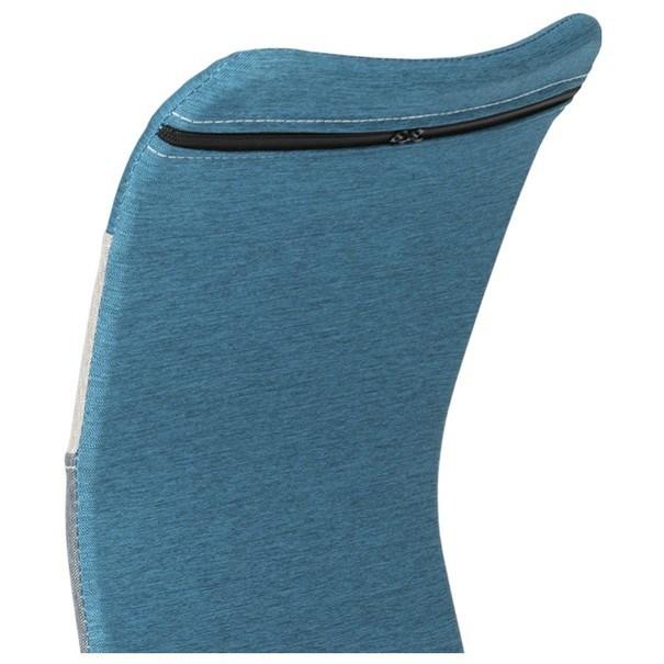 Otočná stolička IRWIN mix farieb modrá 8