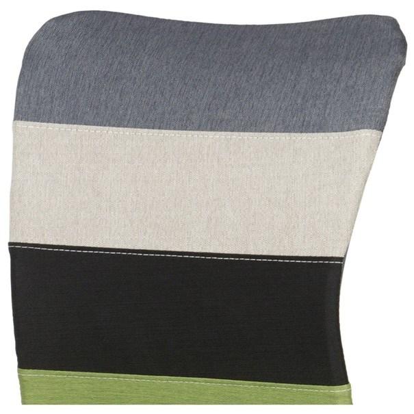 Otočná stolička IRWIN mix farieb zelená 7