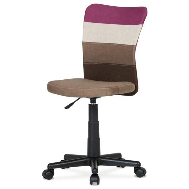 Otočná stolička IRWIN mix barev fialová 1
