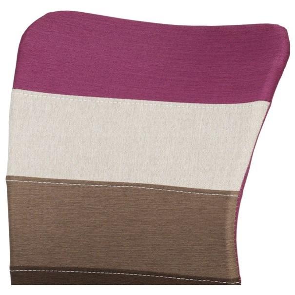 Otočná stolička IRWIN mix barev fialová 7