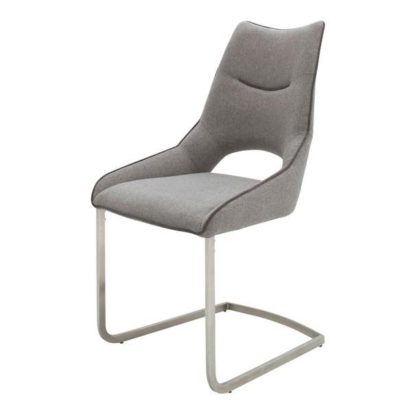 Jedálenská stolička ISLA svetlosivá 1