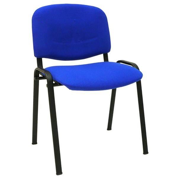 Konferenční židle ISO modrá 2