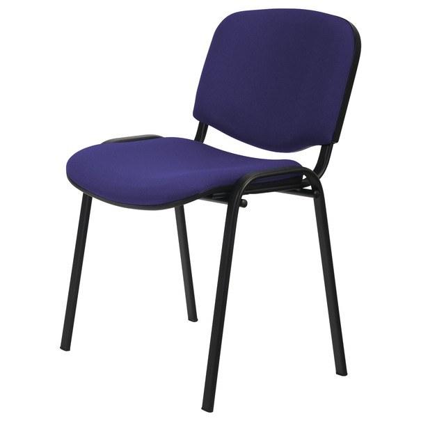 Sconto Konferenční židle ISO černá/modrá - nábytek SCONTO nábytek.cz