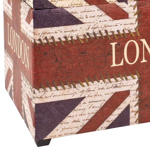 Truhla se sedákem  JACK potisk London 2