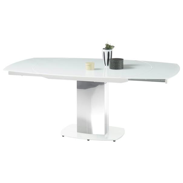 Jedálenský stôl JACKSON biela 2