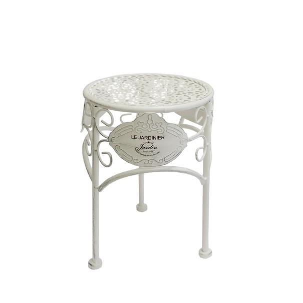 Sconto Zahradní stolek JARDINE ø 20 cm, výška 28 cm - nábytek SCONTOnábytek.cz