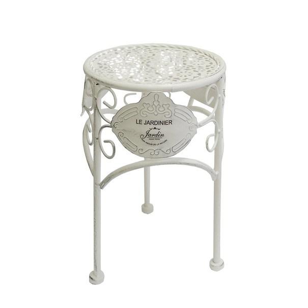 Zahradní stolek JARDINE ø 25 cm, výška 33 cm 1