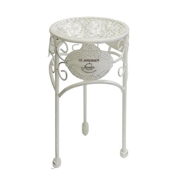 Záhradný stolík JARDINE ø 30 cm, výška 38 cm 1