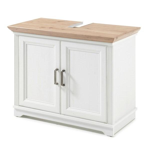 Umyvadlová skříňka JASMIN pinie světlá/dub artisan 1