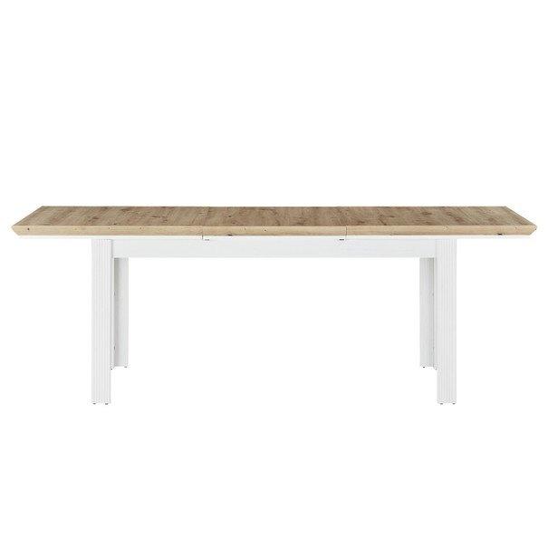 Jídelní stůl JASMIN pinie světlá/dub artisan 4