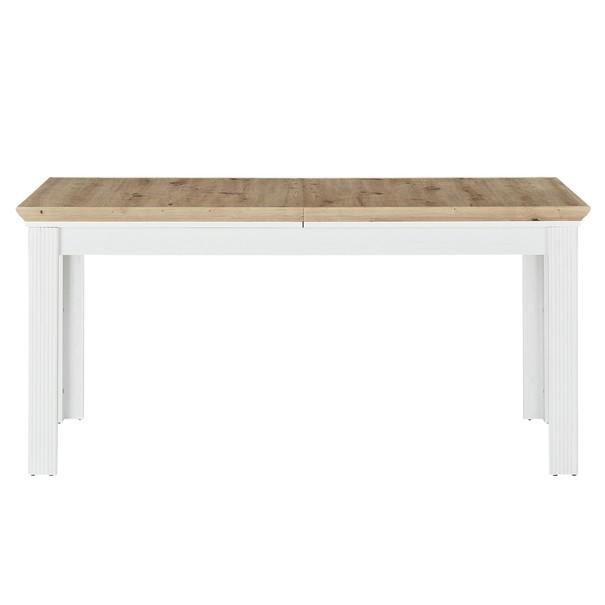 Jídelní stůl JASMIN pinie světlá/dub artisan 5