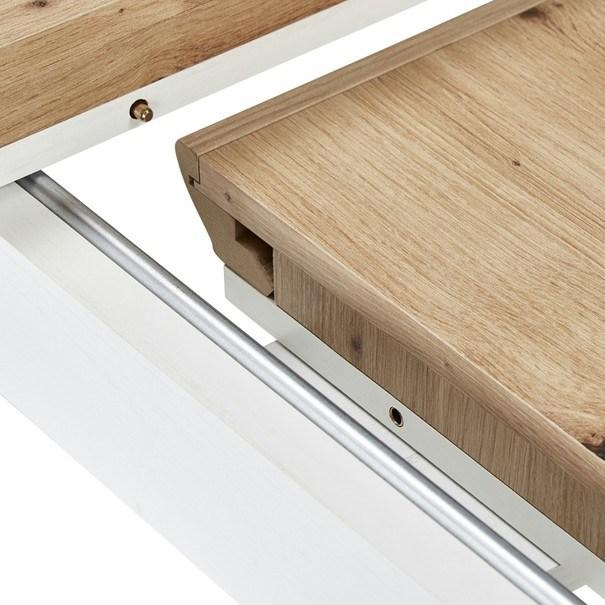 Jídelní stůl JASMIN pinie světlá/dub artisan 6