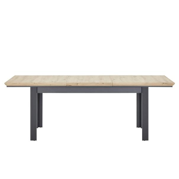 Jídelní stůl JASMIN grafit/dub artisan 5