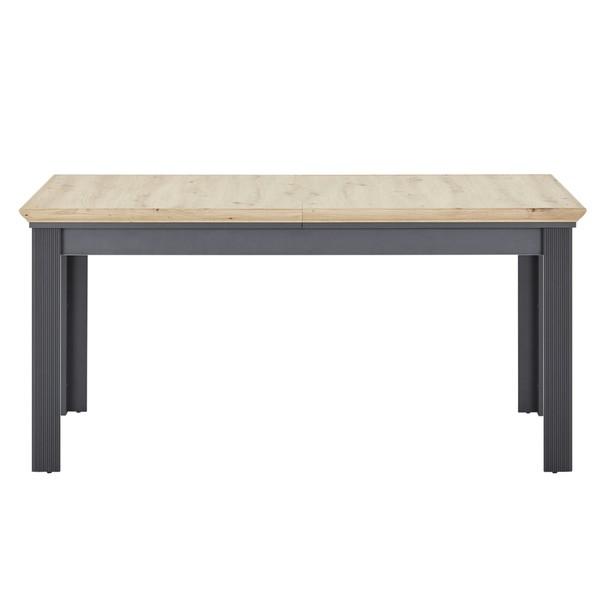 Jídelní stůl JASMIN grafit/dub artisan 6