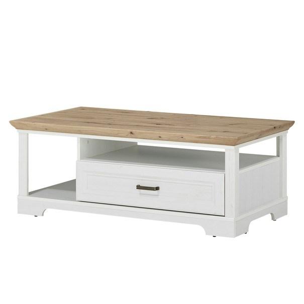 Sconto Konferenční stolek JASMIN pinie světlá/dub artisan - nábytek SCONTO nábytek.cz