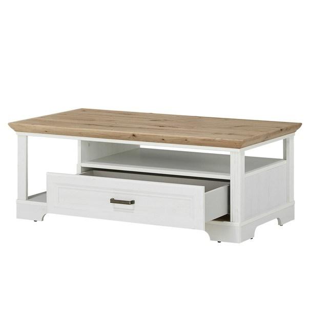 Konferenční stolek JASMIN pinie světlá/dub artisan 3