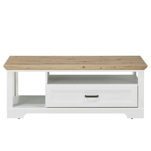 Konferenční stolek JASMIN pinie světlá/dub artisan 4