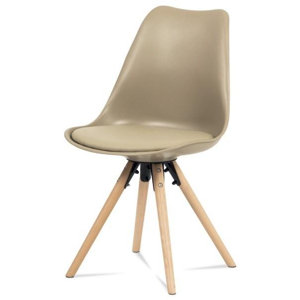 Jídelní židle JASMINA hnědá 1