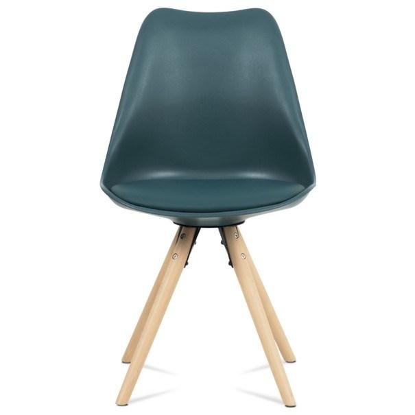 Jídelní židle JASMINA petrolejová 2