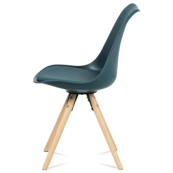 Jídelní židle JASMINA petrolejová 3