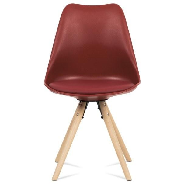 Jedálenská stolička JASMINA červená 2