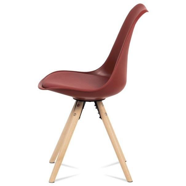 Jedálenská stolička JASMINA červená 3