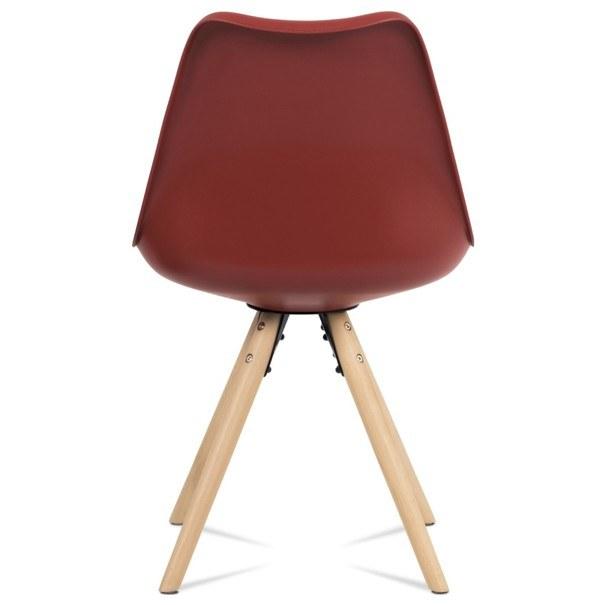 Jedálenská stolička JASMINA červená 5