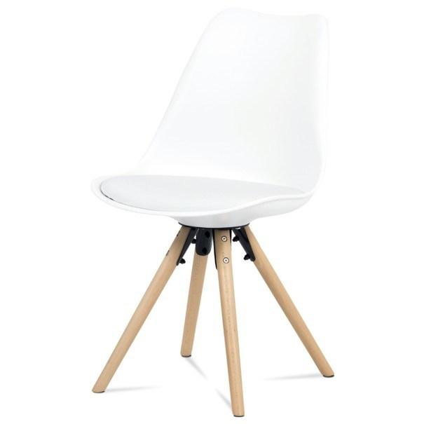 Jedálenská stolička JASMINA biela 1