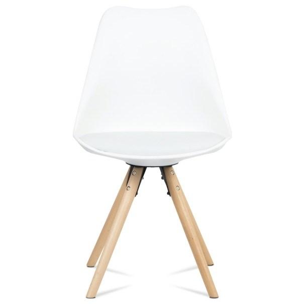 Jedálenská stolička JASMINA biela 2