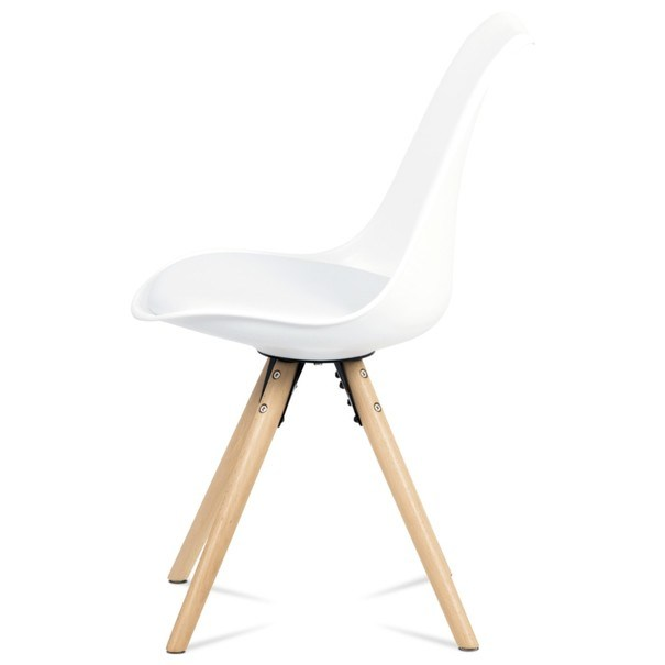 Jedálenská stolička JASMINA biela 3