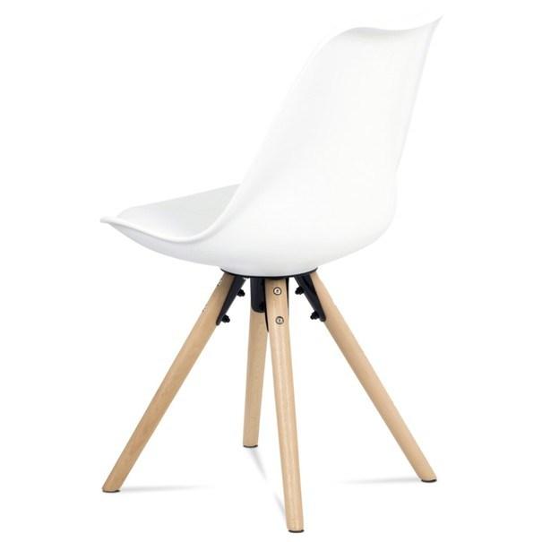 Jedálenská stolička JASMINA biela 4