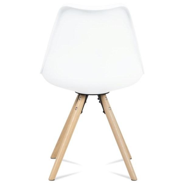 Jedálenská stolička JASMINA biela 5