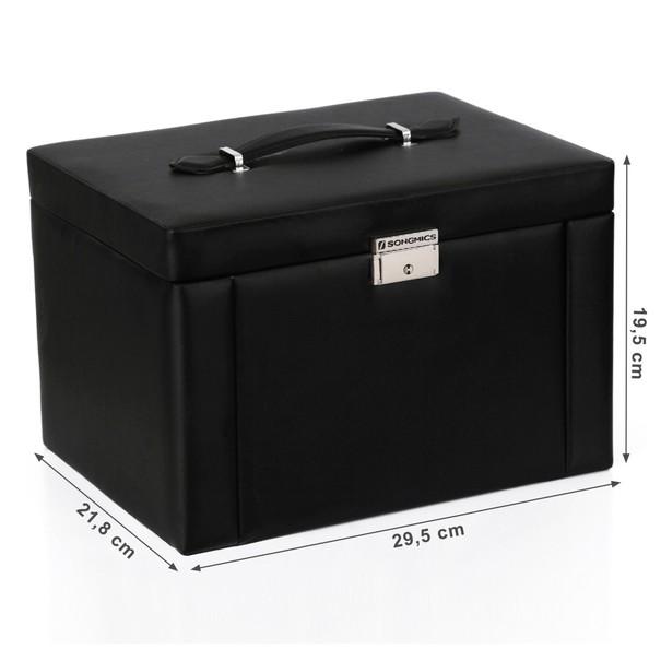 Šperkovnice JBC04 černá 8