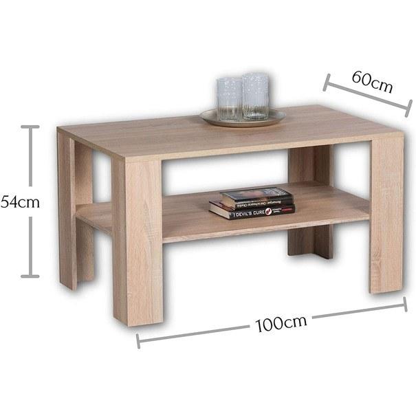 Konferenční stolek JOKER PLUS dub sonoma 3