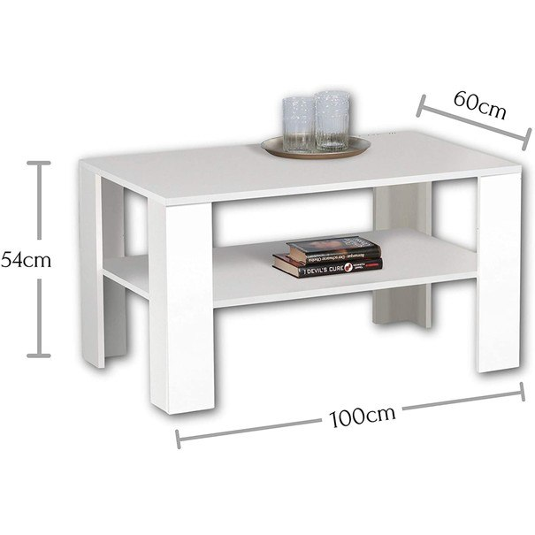 Konferenční stolek JOKER PLUS bílá 3