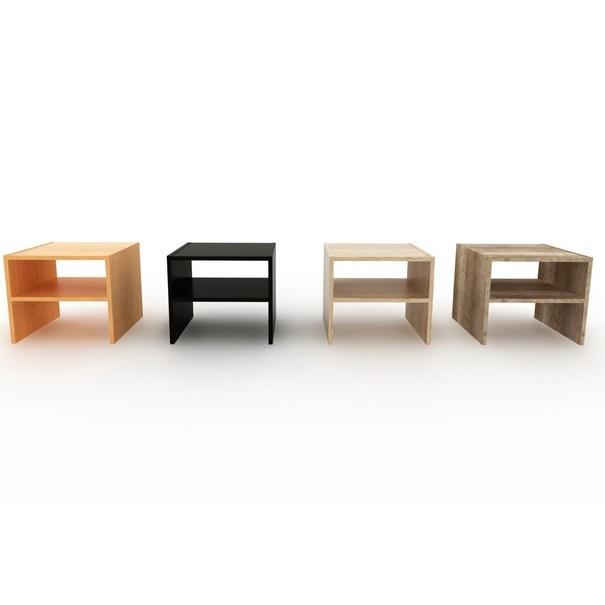 Přístavný stolek JULIA černá 2