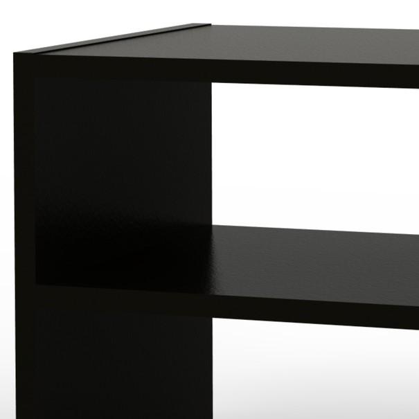 Přístavný stolek JULIA černá 3