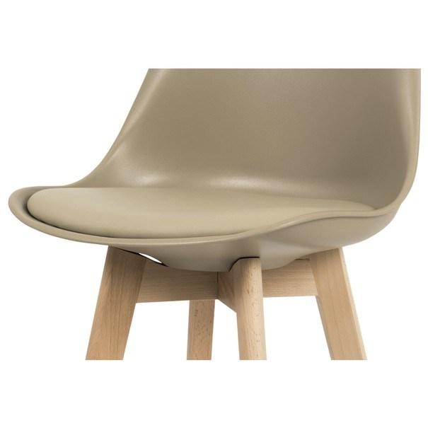 Barová stolička JULIETTE hnedá/buk 3