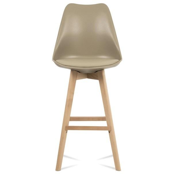 Barová stolička JULIETTE hnedá/buk 7