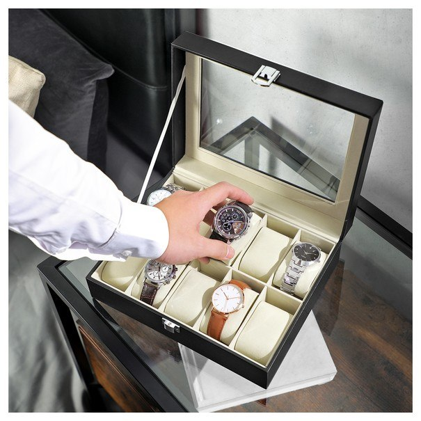 Krabička na hodinky JWB0 černá 2