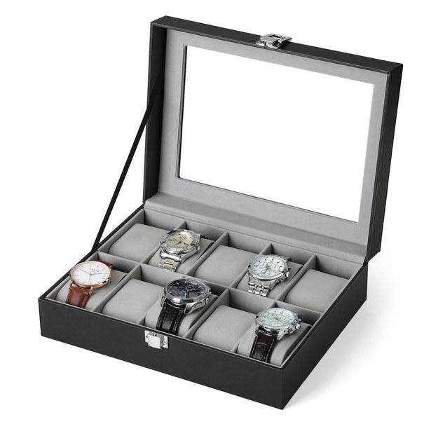 Krabička na hodinky JWB0 šedá 4