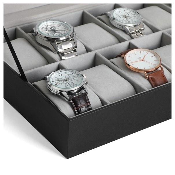 Krabička na hodinky JWB0 šedá 5