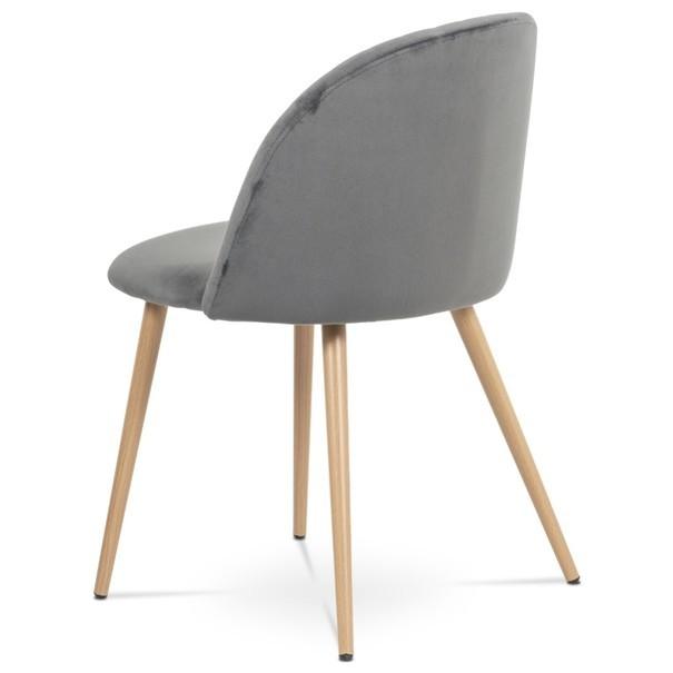 Jídelní židle KAISA dub/šedá 4