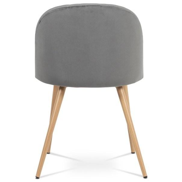 Jídelní židle KAISA dub/šedá 5