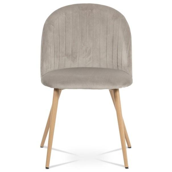 Jídelní židle KAISA dub/béžová 2